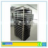 baking equipment baking trolley, stainless steel bakery trolley, baking trolley for oven
