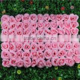 wedding decoration backdrop silk artificial flower wall SM-RY33                                                                                                         Supplier's Choice