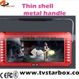 2014 factory 10.2''portable video speakerlwith tft dispaly digital song dvd recording video speaker