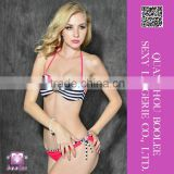 New style sexy striped bikini sets for woman