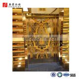 Best price 201,304 3D designs color painting stainless steel sheets for elevator decoration                                                                                                         Supplier's Choice