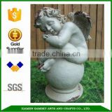 Angel sculptures for sale Cherub Sculpture Sitting on Ball