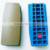 Professional resin bond polishing brick for auto grinding machine , better than Italy polishing block