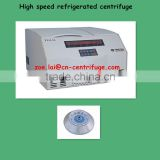 refrigerated laboratory centrifuge high speed micro capacity TGL16 CE marked
