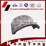 Trailer brake shoes assembly