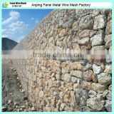 Galvanized wire mesh price,PVC Coated Gabion Box Factory