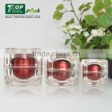 30ml 50ml Luxury Elegan Plastic Product Face Cream Container, Diamond Acrylic Cosmetic Jar