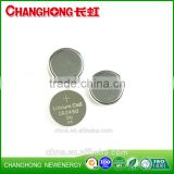 Changhong hot sale coin cell CR2450 3v 560mah lithium battery