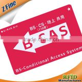 Eco-friendly Full Color printed 125KHz T5577 plastic PVC card 2013 High Quality pvc card manufacturer