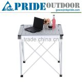 Light Aluminum Folding Picnic Garden Portable Outdoor Camping Foldable Dining Table                                                                         Quality Choice