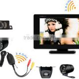 RV-4300WS wireless backup camera system with digital screen monitor, night vision camera