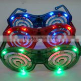 New Led Flashing Birthday Eye Glasses Light Up Party Supplies Toys Kids Adults Bar Club Disco Holiday Decorations