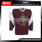 Top quality fashion comfortable wholesale blank hockey jersey&Cheap custom high quality blank ice hockey jerseys