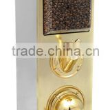 Burr Coffee Bean Dispenser Silo, Coffee Dosage Systems, Coffee Bean Container Cabinets, Dispensers for Coffee Beans Display Box