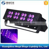 Mega effect stage 16pcs 3w led bar UV black light                                                                         Quality Choice