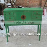 east art style solid wood furniture chinese antique desk