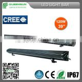 ip68 39inch 120w LED Light Bar high power CHIP build-in for Offroad Vehicle,Heavty Duty,Agriculture,Mining and Marine SRLB120-C3