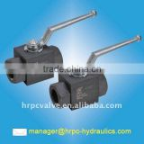 HRPC brand high pressure fully welded ball valves                                                                         Quality Choice