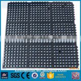 11 13 15mm workshop Industrial non slip waterproof plastic interlocking rubber floor mat 915x915mm