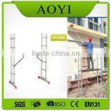 2015 General-purpose scaffold ladder type, folder ladder scaffold,aluminum folding ladder AY-J0206 with en131