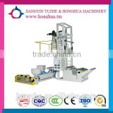china Two color one head one rewind blowing film developing machine
