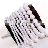 Natural Loose Beads White Jade Rings as Cooperation Gift