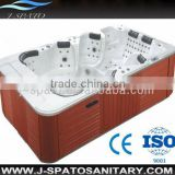 2013 new product made in china 8 person acrylic outdoor swim whirlpool spa