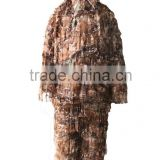3-D Leaf Camo Camouflage Suit Hunting Clothing ghillie suit