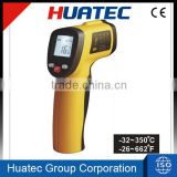 -32 to 350 celsius no contact high low temperature test Laser Infrared digital thermometer