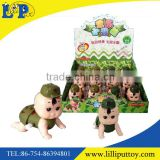 Hot sale wind up climbing baby boy doll toy