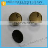 Fashion garment custom made metal jeans button                                                                         Quality Choice