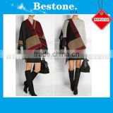Fashion Lady Cape Cashmere Scarf