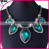 Yiwu jewelry factory 2015 newest environmentally friendly costume jewelry fashion necklace