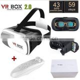 Factory Directly Sale 2Nd Generation Vrarle Sex Video 3D Glasses Vr Box 2.0, Shenzhen Vr Box 2 Virtual Reality