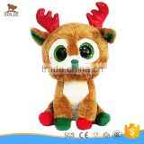 new style plush christmas reindeer toy big eyes stuffed christmas elk toy                                                                         Quality Choice