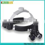 New deign Headband dental surgical loupes with LED light YYJD02                                                                         Quality Choice