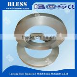 Control, forging, grinding molybdenum ring class ring for components of electrical light source and electro vacuum