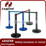 Roadway safety Warning museum exhibition barrier stanchion