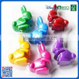 2016 new arrival 3d rabbit shaped fancy crayon for kids with high quailty