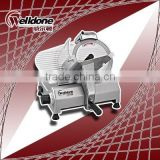 Foshan Welldone 10 inche Semi-automatic stainless steel blade electric frozen meat slicer