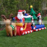 inflatable christmas tree,inflatable santa and reindeer,inflatable christmas outdoor decorations