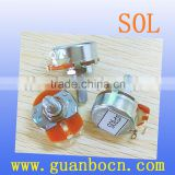 SOL-braking wirewound resistor-24mm Potentiometers Rotary Potentiometers resistor wirewound potentiometer