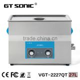 Mechanical operation Europe hot sale nozzle ultrasonic cleaning machine with timer adjusted