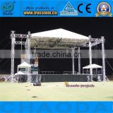 Aluminum stage square box truss for concert event                                                                         Quality Choice