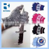 Wholesale Customize promotional touch gloves smart phone touch gloves touch finger gloves