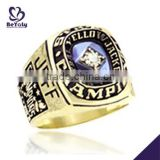 Fashion jewelry custom design silver High School Senior Class Rings                                                                         Quality Choice