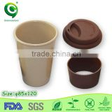 Christmas gift biodegradable rice husk paper coffee cup