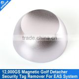 Magnetic Security Tag Detacher With 12000GS EAS Antenna Color Silvery Magnet Alarm Tags Clothes