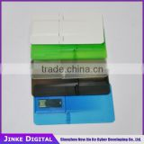 Promotional Customzied logo usb card, cheapest Factoy price business card usb flash, 100% real capacity credit card usb