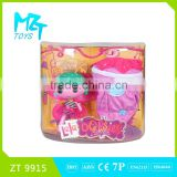 2016 New !Eco-friendly PVC LALA Button Girl( the fairy doll series) with wing+pumpkin bag barbie doll (2 model mixed) ZT9915